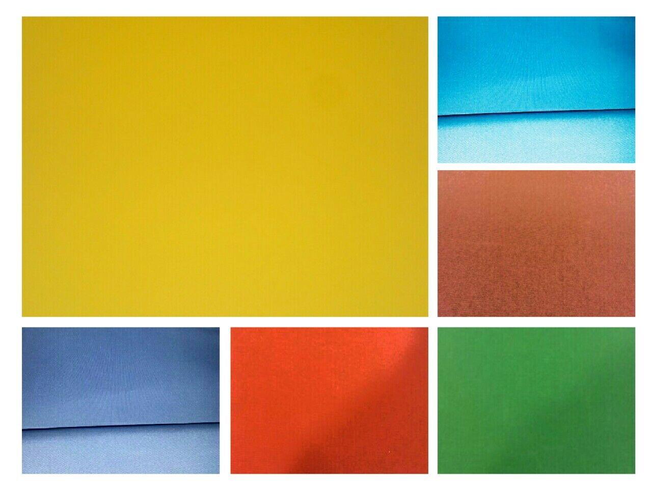 Markisentuch fertig genäht nach Maß - 18€ / m² Markisenstoff Uni Einfarbig