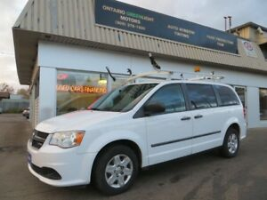 2012 Dodge Grand Caravan RAM,COMMERCIAL BUILT,LADDER RACKS,DIVID