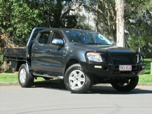 2015 Ford Ranger PX MkII XLT Double Cab Grey 6 Speed Sports Automatic Utility Slacks Creek Logan Area Preview