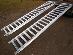 4.5 Tonne Capacity Machinery Ramps 3.6 Metres x 400mm track width Port Macquarie Region Preview