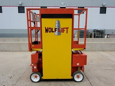 2018 Wolf Lift 3020ae Electric Scissor Compact Jlg Genie Dealer