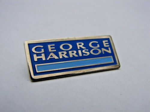 GEORGE HARRISON 1987 Cloud 9 Promotional pin button Dark Horse Beatles Solo