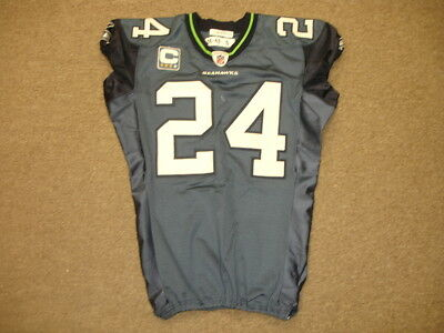 2006-07 Deon Grant Seattle Seahawks Game Worn  24 Jersey c98a36947