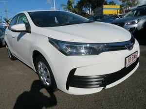 2019 Toyota Corolla ZRE172R Ascent S-CVT White 7 Speed Constant Variable Sedan Mount Gravatt Brisbane South East Preview