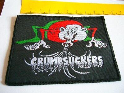CRUMBSUCKERS – very rare old original 80s Patch, rote Jacke!!!