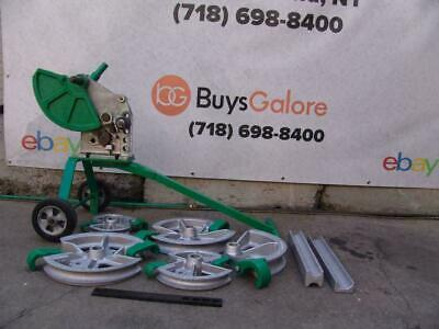 Greenlee 1818 Mechanical Bender 12- 2 Emt Imc Rigid 5 Shoes 2 Follow Bars Bg1