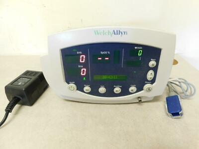 Welch Allyn 53nto Patient Vital Signs Monitor 007-0104-01 W Nellcor Dec-4 Cable