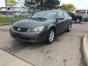 2005 Nissan Altima WELL KEPT,SAFETY+3YEARS WARRANTY INCLUDED