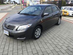 2009 Toyota Corolla ASCENT Manual Sedan FREE 1 YEAR WARRANTY Wangara Wanneroo Area Preview