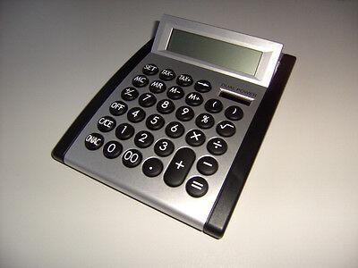 TISCHRECHNER Schulrechner Bürorechner Rechner XL Taschenrechner