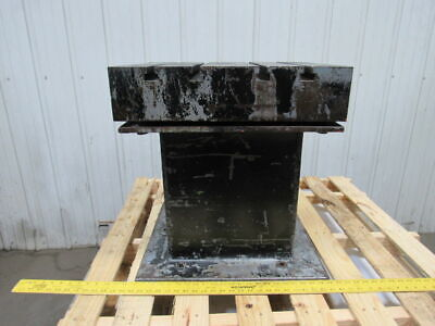 Work Bed Table Cast Iron T-slot Surface Plate 22x 20x5t 23-12 High