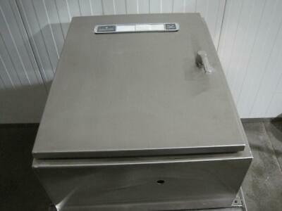 New Hoffman Ws302412ss Ss Electrical Enclosure Stainless Steel 36x24x12 Sloped