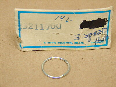 NOS! Shimano 611-9001 vintage 333 3 speed hub 28.6mm downtube cable pulley