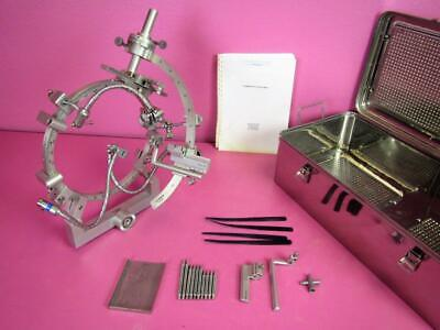 Leibinger Zd Stereotactic Neurosurgical Stereotaxy Stereotaxic System Complete