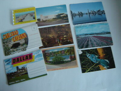 15+ VINTAGE POST CARDS MISCELLANEOUS STATES OF TEXAS NEW MEXICO ETC