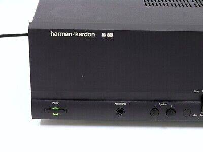 Harman Kardon HK 680 Verstärker mit Fernbedienung und Anleitung