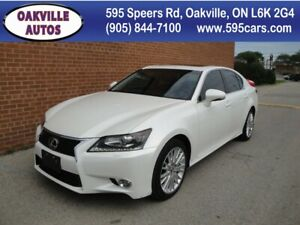 2013 Lexus GS 350 GS 350 AWD 1 Owner No Accident, Headsup, Navi