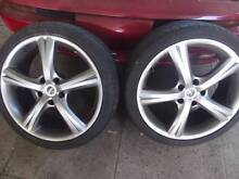 rims/tyres holden commodore vn,vr,vs,vt,vx,vy, vz ect Landsdale Wanneroo Area Preview