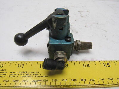 Mac 1113a-021 3 Way Lever Actuated Pneumatic Air Valve 14 Npt