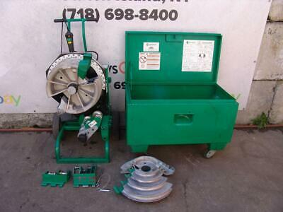 Greenlee 555dx Pipe Bender 12 To 2 Inch Emt Imc Rigid Shoes Works Great