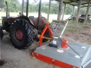 Massey Ferguson Tractor with Slasher