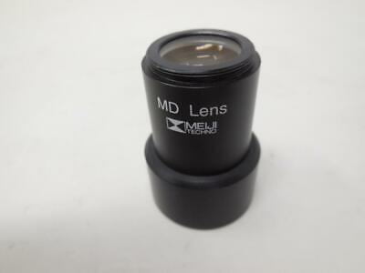 Meiji Techno Md Lens Optic Microscope Ships Today