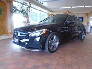 2016 Mercedes Benz C-Class AWD 4MATIC NAVIGATION B-CAM PANORAMIC