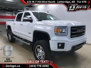 2014 GMC Sierra 1500 SLT 7 INCH LIFT, NAVIGATION, HEATED LEATHER