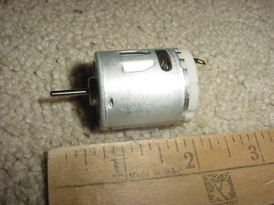 Small Dc Electric Motor 12 Vdc 5260 Rpm 268 Ma M113