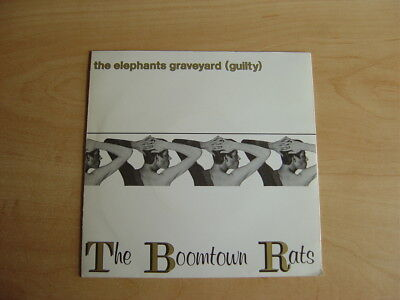 "The Boomtown Rats: The Elephants Graveyard 7"": 1980 UK Release. Picture Sleeve"