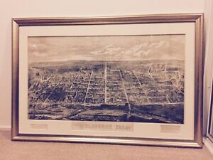 Vintage Print 'Melbourne 1880' Baulkham Hills The Hills District Preview