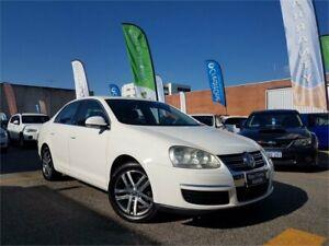 2006 Volkswagen Jetta 1KM 2.0 FSI White 6 Speed Tiptronic Sedan Osborne Park Stirling Area Preview