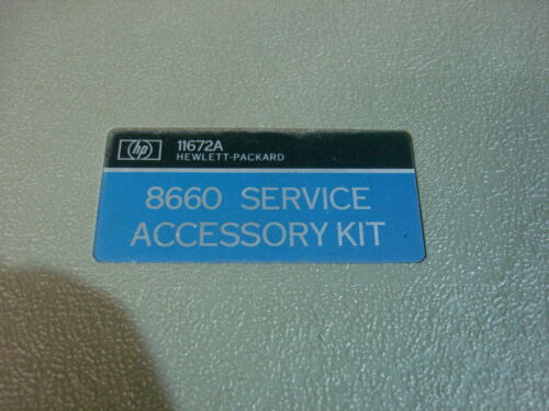 HP 11672B service kit for 8660