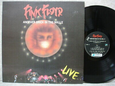 Pink Floyd Live The Wall 1991 LP Picture W/Insert NM Promo