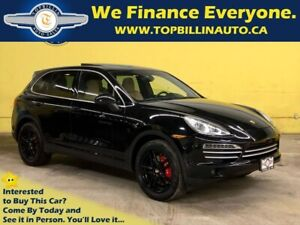 2014 Porsche Cayenne Platinum Edition, Panoramic Roof