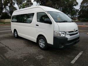 2015 Toyota Hiace Commuter SLWB Wheelchair Accessable Diesel Auto Low Km Marion Marion Area Preview
