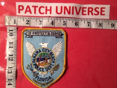 VINTAGE PANAMA CITY BEACH  FLORIDA POLICE  SHOULDER PATCH  N028