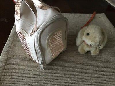 "18"" doll travel pet bag carrier Lanie bunny rabbit Our Generation American Girl segunda mano  Embacar hacia Argentina"
