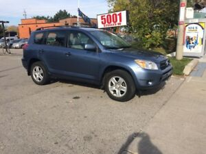 2007 Toyota RAV4 AUTO,AWD,4CYL,SAFETY+3YEARS WARRANTY INCLUDED