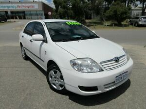 2007 Toyota Corolla ZRE152R Ascent White 4 Speed Automatic Sedan Wangara Wanneroo Area Preview