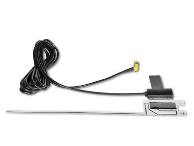 Para JVC sony DAB+ Discos Antena Adhesivo Antena Digital Radio Con Amplificador