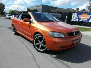 2004 Holden Astra TS MY03 Limited Edition Orange 4 Speed Automatic Convertible