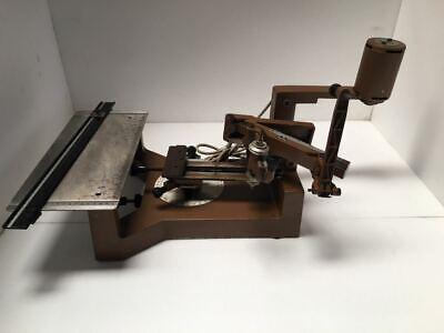 Scripta Manual Engraving Machine Engraver