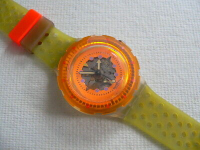 1991 Scuba 200 Swatch watch Hyppocampus V1 New