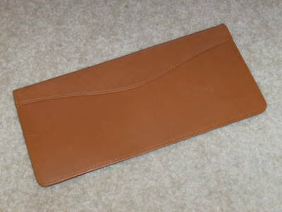 Genuine Leather Business Card Holder 96 Cards Organizer Book Ids Cards Brown