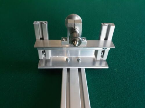 SHARPSHOOTER POOL CUE LATHE ADJUSTABLE LIVE CENTER TAILSTOCK ATTACHMENT