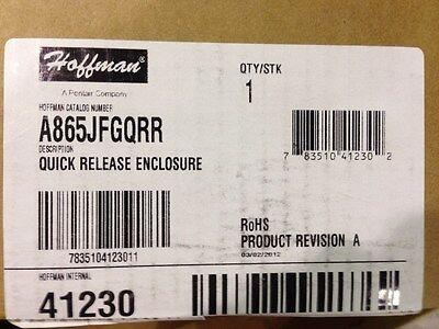New Hoffman A865jfgqrr Fiberglass Quick Release Enclosure
