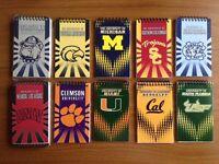 Lotto 10 Blocchi Note Ufficiali Di College America Usa Stati Uniti Universita' -  - ebay.it
