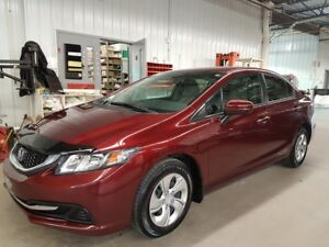 2014 Honda Civic Sedan LX AILERON VITRES TEINTEES