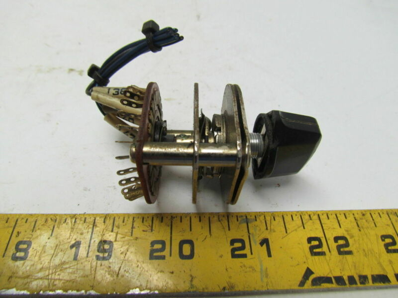 4 Position Rotary  Selector Switch From Hyundia HIT-15S Lathe
